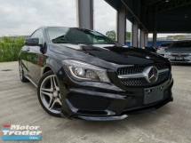 2016 MERCEDES-BENZ CLA 250 AMG BLACK KEYLESS UNREG