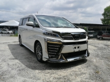 2018 TOYOTA VELLFIRE 3.5 JBL SUNROOF EXECUTIVE LOUNGE UNREG 2018 ( HUGE SPEC )