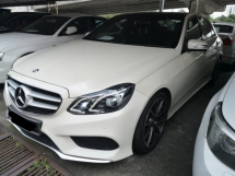 2013 MERCEDES-BENZ E-CLASS E250 2.0cc AMG SPORTS TURBO TRUE YEAR MADE 2013 Free 1 Year Warranty PANORAMIC ROOF Reg 2015