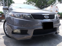 2011 KIA FORTE 1.6 SX (A)  1 OWNER/ LOW MILEAGE/ FULL SERVICE RECORD/ F-LOAN