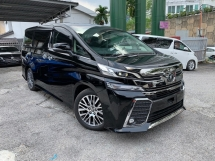 2016 TOYOTA VELLFIRE 2.5 ZG Pilot Seat ** MODELISTA BODYKIT / SUNROOF / PRE CRASH / 2 ALPINE PREMIUM SET ** FREE 4 YEAR WARRANTY ** BEST OFFER