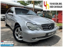 2002 MERCEDES-BENZ C-CLASS C240 (CBU)2.6 (A) 1 LADY OWNER