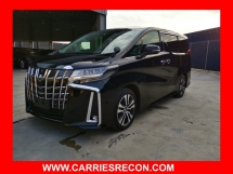 2018 TOYOTA ALPHARD 2.5SC JAPAN SPEC - UNREG WITH PILOT SEAT/LEATHER SEAT