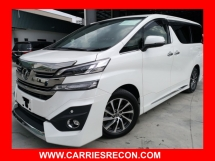 2016 TOYOTA VELLFIRE 3.5 EXECUTIVE LOUNGE FULL SPEC - UNREG