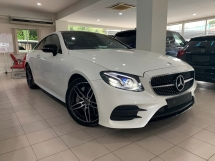 2017 MERCEDES-BENZ E-CLASS E300 2.0 COUPE AMG PREMIUM LINE ** NIGHT EDITION / FULL SPEC ** FREE 3 YEAR WARRANTY ** BEST OFFER