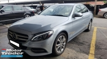 2015 MERCEDES-BENZ C-CLASS C200 CGI (A) REG 2015, ONE CAREFUL OWNER, FULL SERVICE RECORD, LOW MILEAGE DONE 24K KM, FREE 1 YEAR GMR CAR WARRANTY, 17