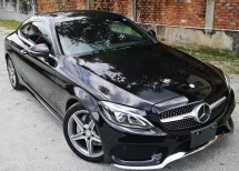2016 MERCEDES-BENZ A-CLASS 2016 MERCEDES BENZ C180 1.6 TURBO COUPE SPORTS AMG JAPAN SPEC CAR SELLING PRICE ONLY RM 239,000.00