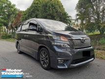 2010 TOYOTA VELLFIRE 2.4 (A) ZP - REGISTERED 2015 SUPERB COND