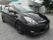 2009 TOYOTA WISH X AERO SPORTS PACKAGE LIMITED TRD SPORTIVO REAR MONITOR TEIN ADJUSTABLE TIPTOP