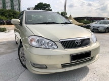 2008 TOYOTA COROLLA ALTIS 1.6 E,Low Mileage,One Owner,Full Leather Seat,Acc Free,Nice Paint