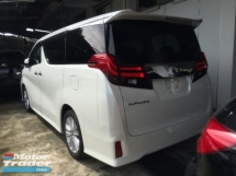 2015 TOYOTA ALPHARD 2.5 SA UNREG.TRUE YEAR MADE CAN PROVE.7 SEAT.POWER BOOTORI 360 CAMERA N JBL THEATER.PRE CRASH.LEATHER SEAT ORI N ETC.FREE WARRANTY N MANY GIFTS