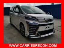 2018 TOYOTA VELLFIRE 2.5ZG Edition - GOOD CONDITION / LOW MILEAGE - UNREG