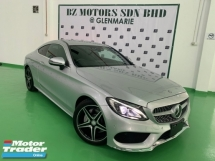 2016 MERCEDES-BENZ C-CLASS C180 AMG COUPE JAPAN SPEC UNREG