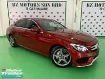 2016 MERCEDES-BENZ C-CLASS C200 AMG AIRMATIC DYNAMIC JAPAN UNREG
