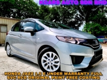 2016 HONDA JAZZ 1.5 E i-VTEC UNDER WARRANTY FREE COATING