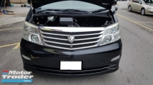 2007 TOYOTA ALPHARD 3.0 V6 (A) MZG MODEL, REG 2010, CAREFUL OWNER, HIGH SPEC, HOME THEATER, SUNROOF, 100% ACCIDENT FREE, SELDOM USE, LOW MILEAGE DONE 103K KM, 16\