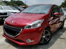 2015 PEUGEOT 208 5 DOOR SUPER RED TIP TOP CONDITION FAST LOAN APPROVAL MAX FINANCE ! ! ! ! ! ! !