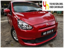 2015 MITSUBISHI MIRAGE 2015 Mitsubishi Mirage 1.2 GS Hatchback (A) 1 OWNER FULL SERVICE RECORD