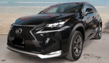 2016 LEXUS NX 200T 2.0L TURBOCHARGED UNREG (MUST VIEW UNIT)