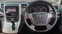2015 TOYOTA ALPHARD 2.4 (A) G Facelift Keep Like New Car Condition Confirm Accident Free No Repair Need Worth Buy