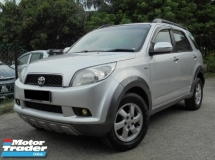 2008 TOYOTA RUSH 1.5 G 7Seater TipTOP Condition LikeNEW