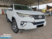 2017 TOYOTA FORTUNER 2.7V SRZ CANTIK CONDITION UNDER TOYOTA WARRANTY ACTUAL MILEAGE