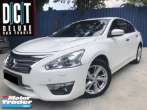 2016 NISSAN TEANA 2.5 PREMIUM XV HIGH SPEC VERSION ONE DIRECTOR OWNER WITH DRIVER