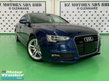 2015 AUDI A5 2.0 TFSI QUATTRO S-LINE TURBOCHARGED JAPAN UNREG
