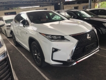 2017 LEXUS RX RX200 RX200t F Sport 2.0 Turbocharged Pre Crash Head Up Display Running LED Intelligent Lane Departure Assist Multi Function Paddle Shift Steering Smart Entry Zone Climate Control Bluetooth Connectivity Unreg