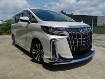 2018 TOYOTA ALPHARD 2.5 SC MODELISTA KIT DIM SUNROOF LOW MIL OFFER UNREG
