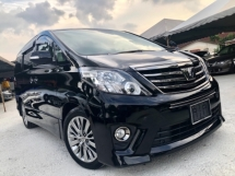2015 TOYOTA ALPHARD 2.4 (A) FULL SPEC POWER BOOT FREE COATING