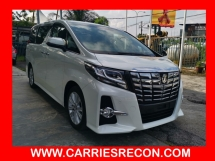 2016 TOYOTA ALPHARD 2.5SA JAPAN SPEC - UNREG - MUST VIEW
