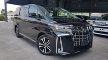 2018 TOYOTA ALPHARD 2018 Toyota Alphard 2.5 SC Facelift Sun Roof 3 LED JBL Sound System 4 Camera Full Leather Pre Crash LTA BSM Unregister for sale