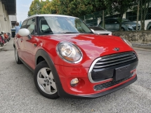 2016 MINI 5 DOOR 1.5 COOPER TURBO RED COLOR UNREG