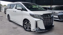 2018 TOYOTA ALPHARD 2018 Toyota Alphard 2.5 SC Facelift DEMO Car 3 LED Sun Roof Pre Crash LTA DIM Full Leather Modelista Bodykits Unregister for sale