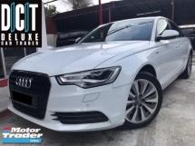 2014 AUDI A6 2.0 TFSI HYBRID (A) PREMIUM SPEC 8 SPEED ONE DIRECTOR OWNER