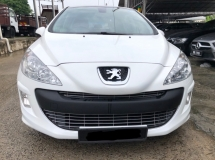 2012 PEUGEOT 308 1.6 Turbo (A), Panaromic Roof,Low Mileage,Accident Free,One Owner ,Nice Paint
