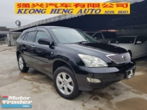 2011 TOYOTA HARRIER 240G L PACKAGE 1 Malay ownet