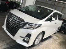 2015 TOYOTA ALPHARD 2.5 SA FULL JBL ORI 4 CAMERA POWER DOORS POWER BOOTH 2015 UNREG