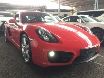 2016 PORSCHE CAYMAN 2.7 FACELIFT UNREG.NO HIDDEN CHARGE.TRUE YEAR MADE CAN PROVE.PDK.PCM.TIPTRONIC GEAR.BIG RIM.MULTIFUNCTION STEERING.ELECTRIC SEAT N ETC.FREE WARRANTY N MANY GIFTS