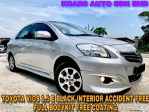 2013 TOYOTA VIOS 1.5E (AT) FULL B/KIT FREE COATING