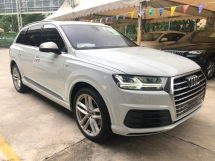 2015 AUDI Q7 3.0 TDi S-Line Quattro New Model MMi Touch Head Up Display Matrix LED Lights 7 Seat Dynamic Drive Select Multi Function Paddle Shift Steering Reverse Camera Unreg