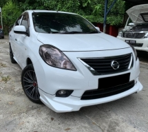 2014 NISSAN ALMERA 1.5 VL HIGH SPEC FULL LOAN 1 OWNER CITY VIOS