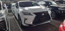 2016 LEXUS RX 200T F SPORT 4WD ACTUAL YEAR MAKE 2016 NO HIDDEN CHARGES
