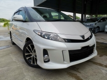 2015 TOYOTA ESTIMA 2.4 AERAS PREMIUM WHITE OFFER UNREG