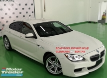 2014 BMW 640i 2014 BMW 640i M-SPORT GRAN COUPE 3.0 TWIN POWER TURBO JAPAN SPEC UNREG SELLING PRICE RM 269000