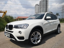2014 BMW X3 2.0 (A) X DRIVE TURBO DIESEL Unregistered