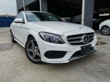 2014 MERCEDES-BENZ C-CLASS C200 AMG POWERBOOT HEAD UP DISPLAY WHITE UNREG