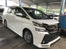 2017 TOYOTA VELLFIRE 2.5 GOLDEN EYE ADMIRATION EDITION POWER BOOTH 4 CAMERA 2017 JPN UNREG