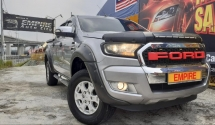 2017 FORD RANGER XLT HI RIDER 2.2 (A) CBU !! 4WD T6 FACELIFT !! NEW VERSION WILD TRACK EDITION !! DUAL CABIN PICKUP 6 SPEED DIESEL GEOMOTRY TURBO !!       160 HP / 385 NM !! REVERSE CAMERA / MAXLINER AND ETC !! PREMIUM FULL HIGH SPECS !! ( BXX 8862 ) 1 CAREFUL OWNER !!